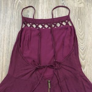 Kimchi Blue Pants - Urban Outfitters Purple Romper
